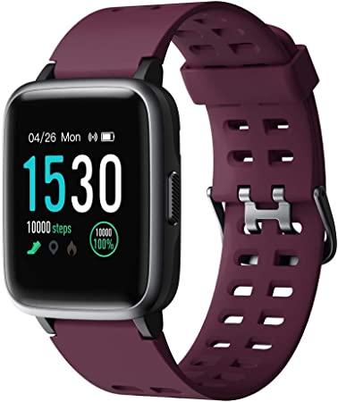 side facing yamay fitness tracker watch