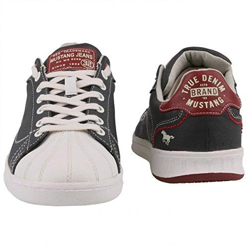 Mustang Hombre Zapatos con cordones negro, (schwarz) 4098-305 9 schwarz