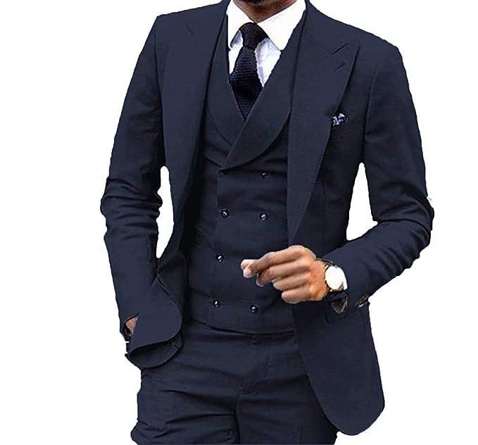 Amazon.com: Onlylover - Chaleco y pantalón para hombre ...