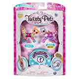 (US) Twisty Petz, Series 2 3-Pack, Bubblegum Kitty, Sugarstar Flying Pony and Surprise Collectible Bracelet Set for Kids