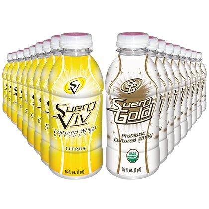 SueroViv Silver 3-Day Cleanse - 18 bottles by Beyond Organic