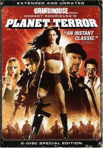 DVD : Planet Terror (Extended Edition, Director's Cut / Edition, Widescreen, Amaray Case, 2 Disc)