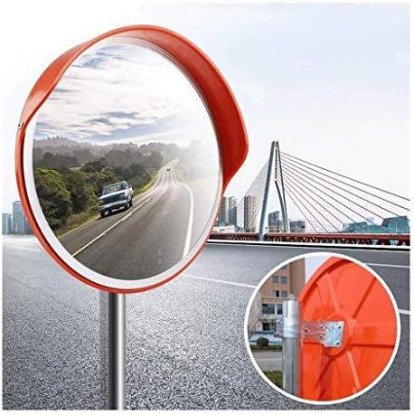 カーブミラー レーン屋外工場ワークショップのための丈夫な防水凸交通鏡PC飛散防止 RGJ4-11 (Size : 300mm)