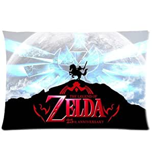 """The Legend of Zelda - Link Cool Personalized Custom Zippered Pillow Case 20""""x30""""(twin sides) - Shinhwa Create"""