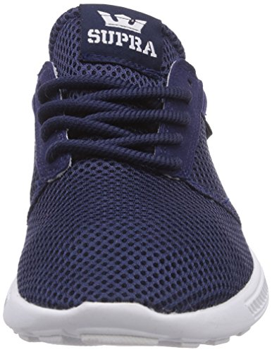 Supra Bone navy Nvy Sneakers blau Run Blu Hammer Unisex FzRqFwgr