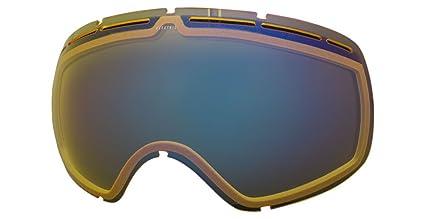 2a5108de1bb Amazon.com   Electric Visual EG2.5 Yellow Blue Chrome Snow Goggle ...