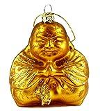Meditating Buddha Hanging Christmas Ornament