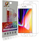 Planet B - Apple iPhone 6s Plus/7 Plus/8 Plus [2 Pack] Tempered Glass Screen Protector