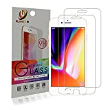iPhone 6s Plus/7 Plus/8 Plus [2 Pack] Tempered Glass Screen Protector