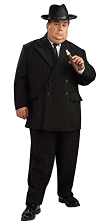 Amazon.com: Mafia Gangster Mens Big And Tall Halloween ...