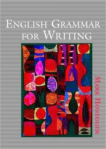 English Grammar for Writing