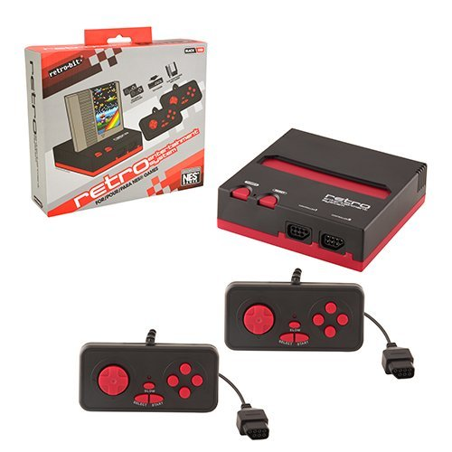 NES Retro Entertainment System(Black/Red)