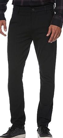 Amazon Com Paige Stafford Pantalones Para Hombre Negro M807374 1086 34 Clothing