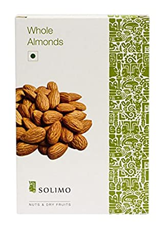 Amazon Brand - Solimo Premium Almonds, 500g