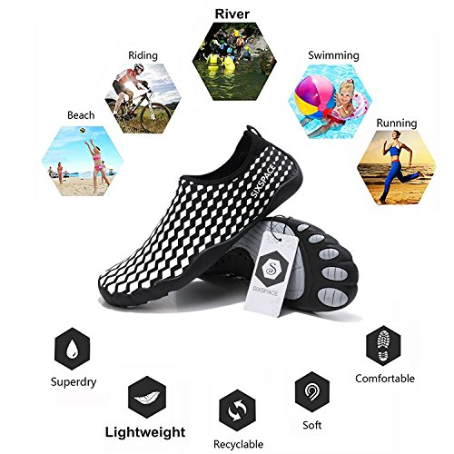 Sole Quick 05 Men Dry Pool Durable Water Shoes White Beach Barefoot for Skin Sixspace Surf Yoga Exercise Shoes Women Water FRcfc0q