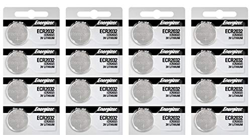 - Energizer 2032BP-4 3 Volt Lithium Coin Battery - Retail Packaging (Pack of 12)