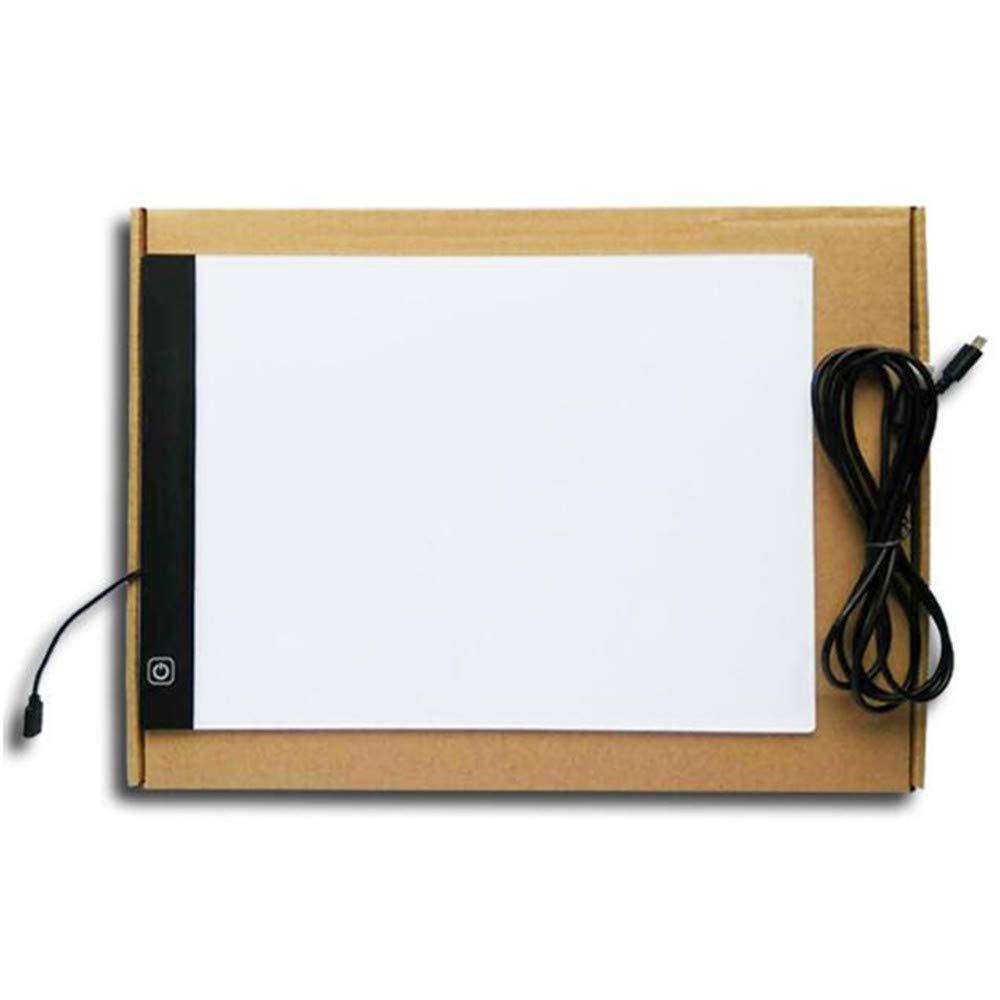 Freeas LED A4 Light Box Pad Ultra Magro con 3 luminosit/à Regolabile Arte mestiere Disegno tracciato Tatuaggio Lightbox di Bordo Alimentazione Via USB