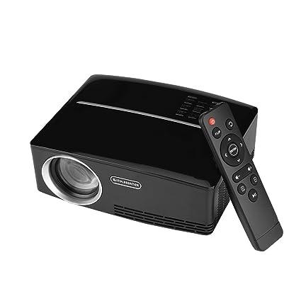 Amazon.com: Zerone Home Theater Mini Projector 4K x 2K ...
