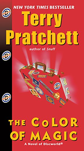From the late, great Sir Terry Pratchett, discover DISCWORLD with this magical overnight price cut!  The Color of Magic (Discworld Book 1) by Terry Pratchett