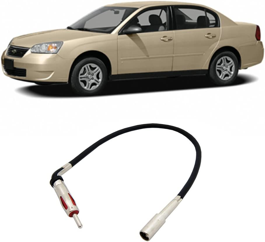Compatible with Chevy Malibu 1997-2007 Factory Stereo to Aftermarket Radio Antenna Adapter Plug
