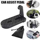 Adealink Vehicle Hooked U Shaped Latch Doorstep with Saftey Hammer Function Rooftop for Car Jeep SUV