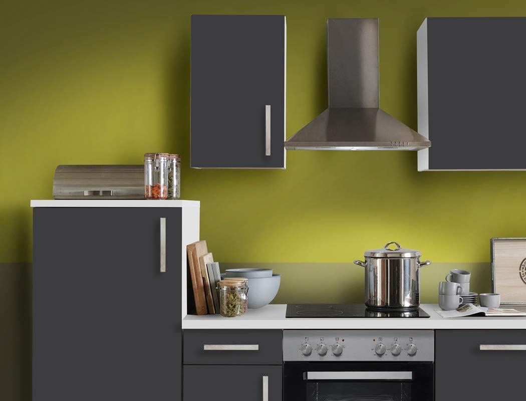 expendio Unico - Bloque de Cocina (270 cm, Pizarra, con lavaplatos, eléctrico), Color Gris: Amazon.es: Hogar
