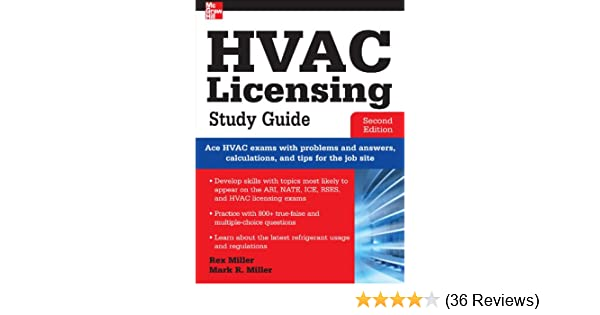 Hvac licensing study guide second edition rex miller mark r hvac licensing study guide second edition rex miller mark r miller ebook amazon fandeluxe Images