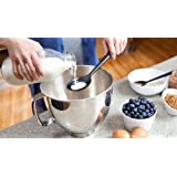 Quirky Portion Mixing & Measurement Baking Spoon, - Black by Quirky
