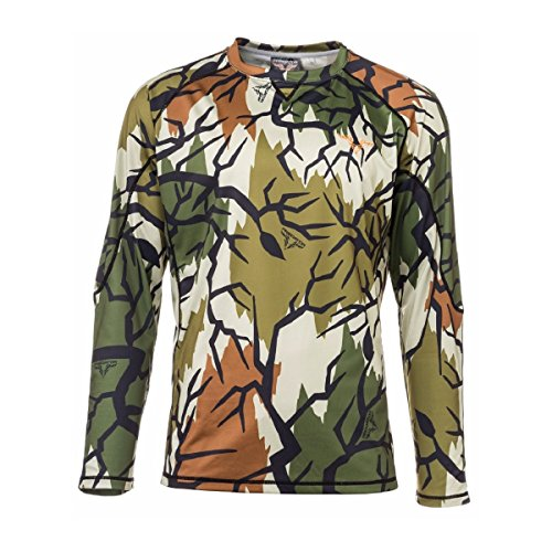 Predator Long Sleeve Crew Shirt, Spring Green, Large