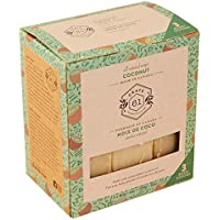 Crate 61 Coconut Soap 3 pack, 100% Vegan Cold Process, scented with premium food grade organic flavors, for men and…