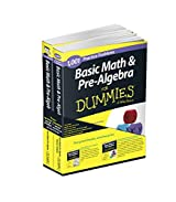 Basic Math and Pre-Algebra: Learn and Practice 2 Book Bundle with 1 Year Online Access (For Dummies Series)
