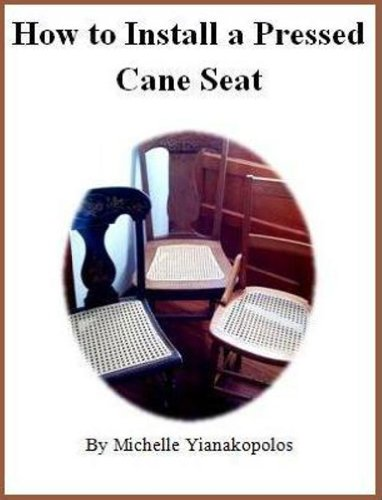 How to Install a Pressed Cane Seat, used for sale  Delivered anywhere in USA