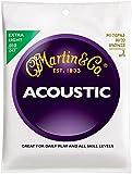 39 guitar - Martin M170 80/20 Bronze Extra Light 3-Pack Acoustic Guitar Strings