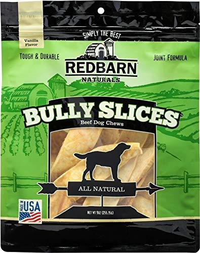 Cheap Red Barn Naturals Bully Slices Beef Dog Chews, Vanilla 54oz (6 x 9oz)