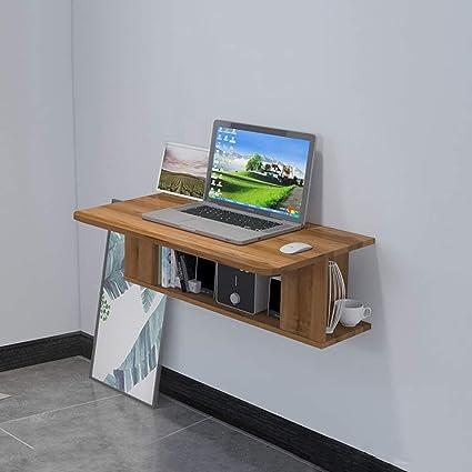 Escritorio para computadora montado en la Pared Tocador Estante de ...