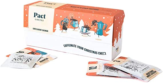 Pact Coffee Advent Calendar 2019 25 Varieties Of Rare Speciality Coffee