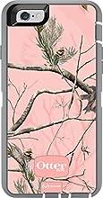 OtterBox iPhone 6 ONLY Case - Defender Series Retail Packaging - Ap Pink(White/Gunmetal Grey Ap Pink) (4.7 inch)