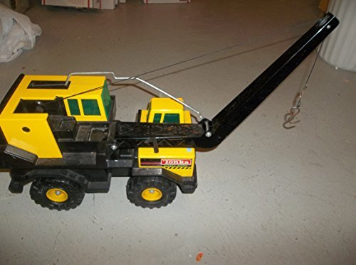 Vintage Classic Tonka Front End LOader Truck - Circa 1999 - Pressed Steel Upper Body - Paint Still in Decent Condition -