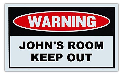 novelty-warning-sign-johns-room-keep-out-for-boys-girls-kids-children-post-on-bedroom-door-10-x-6-pl