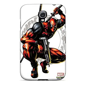 Flexible Tpu Back Case Cover For Galaxy S4 - Marvel Vs Capcom Deadpool