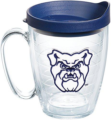 Tervis 1204062 Butler Bulldogs Logo Tumbler with Emblem and Navy Lid 16oz Mug, (Butler Tumbler)