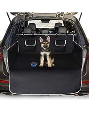 Toozey Kofferbakbescherming voor hond - Universele Antislip Autolaars Hondendeken met Zijbescherming en Bumperbescherming, Waterdicht en Aangroeiwerende, Gemakkelijk Schoon te Maken - Zwart