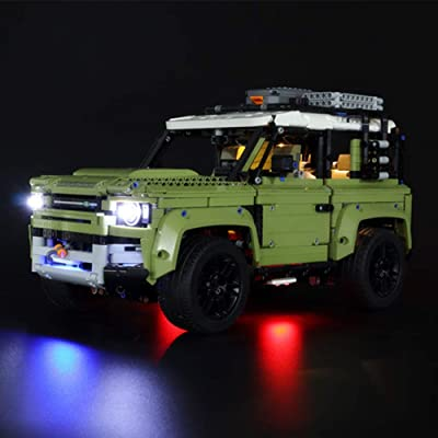 GDR LED Light Up Kit Toy for Technic Land Rover Defender Off Road 4x4 CarBuilding Blocks Lighting Set Compatile with Lego 42110(NOT Include The Model): Toys & Games