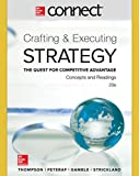 img - for Connect 1 Semester Access Card for Crafting & Executing Strategy: Concepts and Readings book / textbook / text book