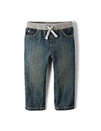 The Children's Place Baby Boys' Pull on Jeans