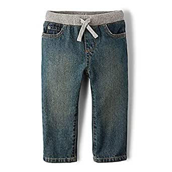 Amazon.com: The Children's Place Baby Boys' Pull on Jeans ...