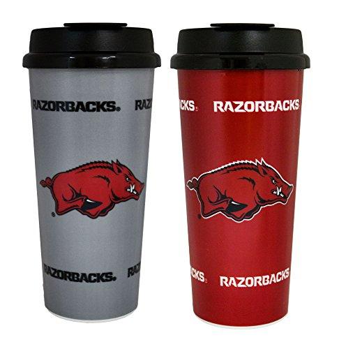 - GameDay Novelty NCAA Arkansas Razorbacks Insulated Travel Tumbler, 16 oz