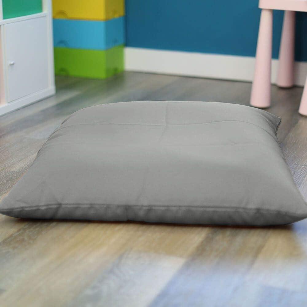 Trend Square Floor Cushion Beanbag (Baby Pink) Platinum
