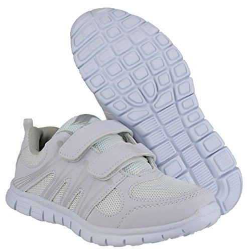 Shoe Milos 39 Ladies Size Mirak Velcro Sports White fpIwvqg