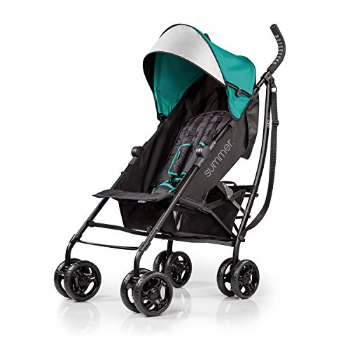 Best Price! Summer Infant 3D lite Convenience Stroller, Teal